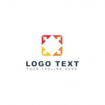 Logotipo abstracto de asesoría
