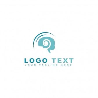 Logotipo abstracto de hypnosis