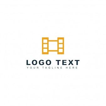 Logotipo abstracto de la letra h