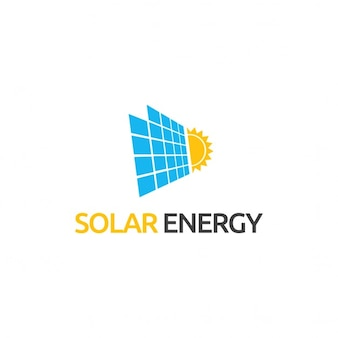 Logotipo acerca de la energía solar