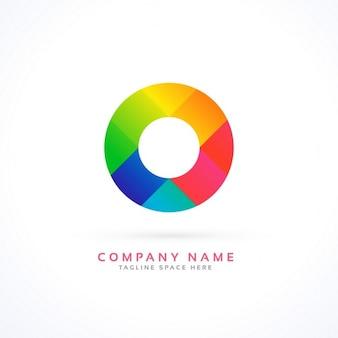 Logotipo circular a todo color
