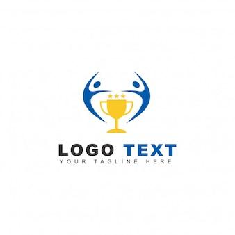 Logotipo con trofeo