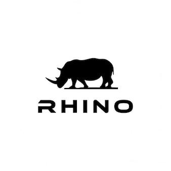 Logotipo con un rinoceronte