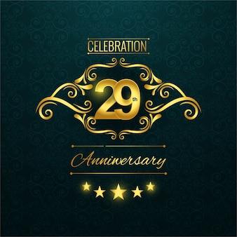 Logotipo de 29o aniversario