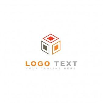 Logotipo de abstracto de caja