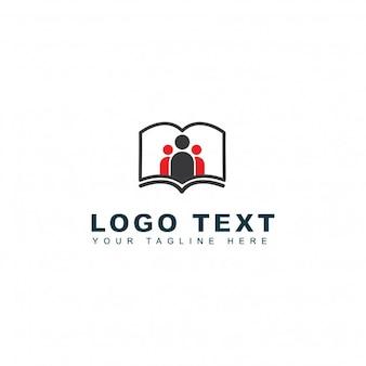 Logotipo de aprendizaje y colegio