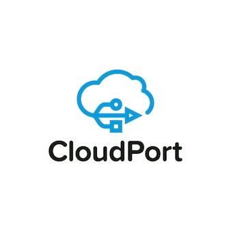 Logotipo de Cloud Port 2