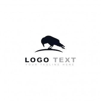 Logotipo de cuervo negro