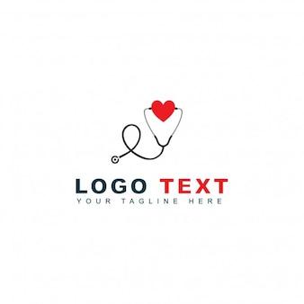 Logotipo de cuidado y emergencia