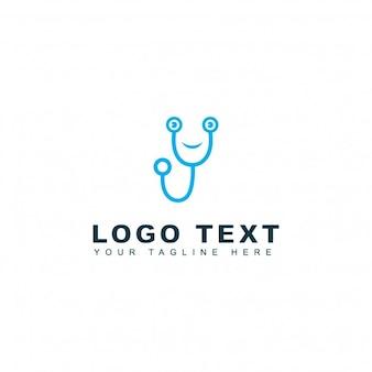 Logotipo de doctor amable
