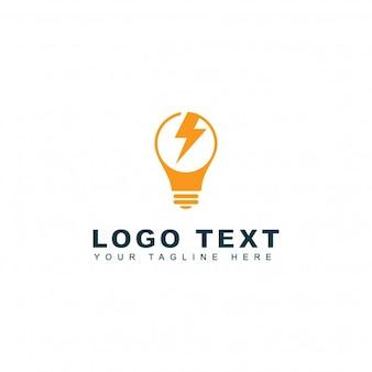 Logotipo de energía y potencia