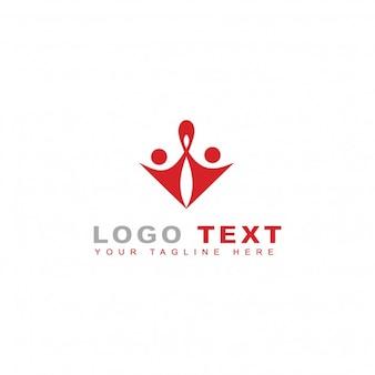 Logotipo de gente conectada