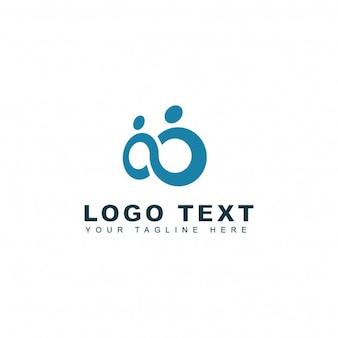 Logotipo de infinidad y pareja