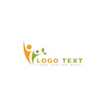 Logotipo de personas saludables