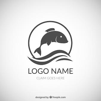 Logotipo de pescado