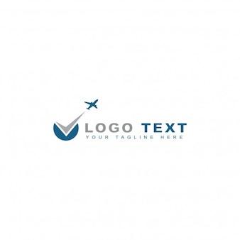 Logotipo de reserva de vuelos