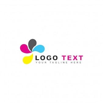 Logotipo de solución de impresión