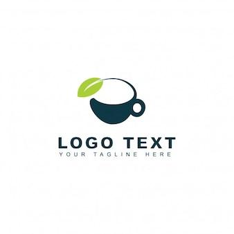 Logotipo de té verde