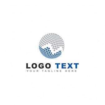 Logotipo de tecnología de mercado