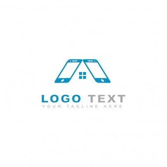 Logotipo de tienda telefónica
