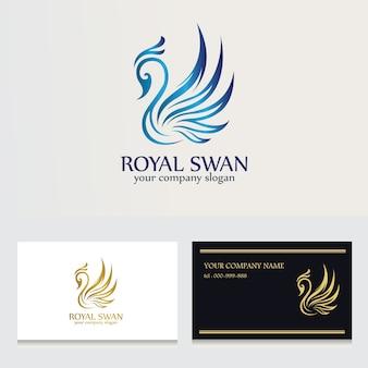 Logotipo del cisne