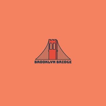 Logotipo del puente de brooklyn