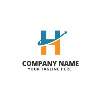 Letra h fotos y vectores gratis for Logos con letras