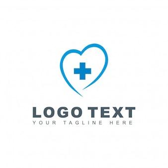 Logotipo medico azul