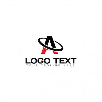 Logotipo moderno con la letra a