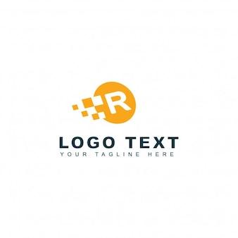 Logotipo moderno de la letra r