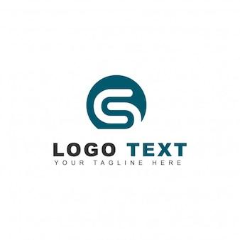 Logotipo sólido de tecnología