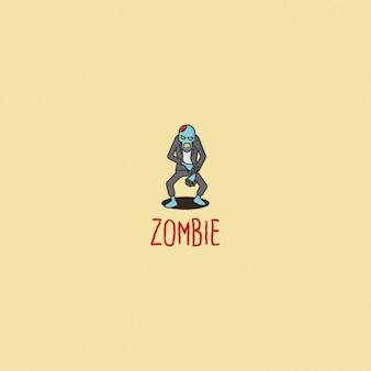 Logotipo zombie