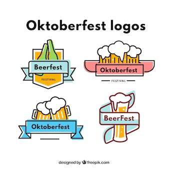 Logotipos colorido Oktoberfest