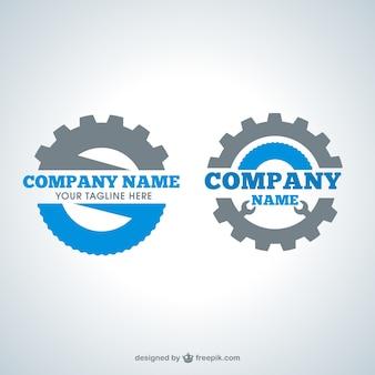 Logotipos de engranaje