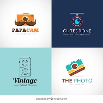 Logotipos de tienda de fotos
