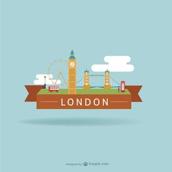 Londres con monumentos