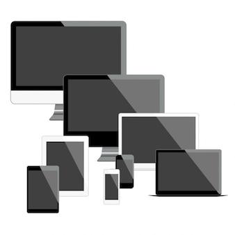 Los dispositivos móviles y pantallas