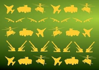 los iconos de tipo militar