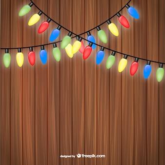 Luces de decoración navideñas