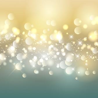 Luminoso fondo con burbujas