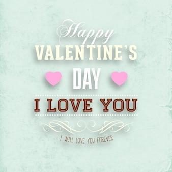 Madres día de San Valentín borrosa amor