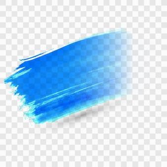 Mancha de pintura azul