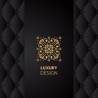 Mandala diseño de lujo
