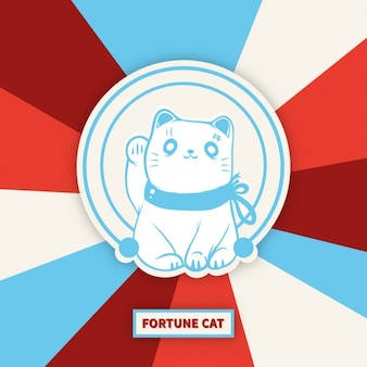 Maneki-neko gato de la suerte
