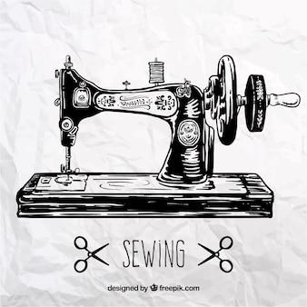 Máquina de coser retro