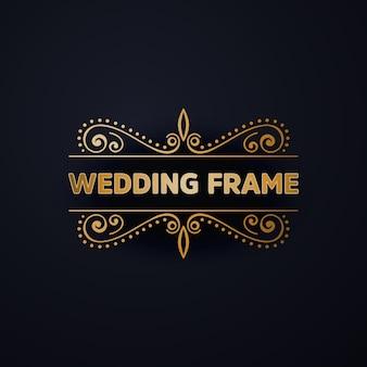 Marco para boda de lujo