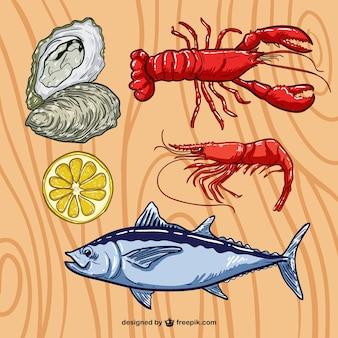 Marisco ilustración