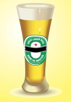 más grande de cerveza