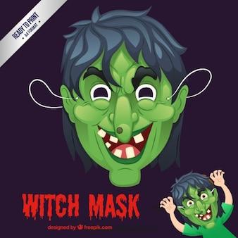 Máscara de bruja