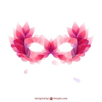 Máscara de carnaval abstracta